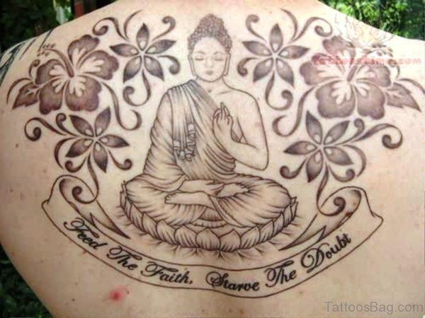 Brilliant Buddha Tattoo Design 1