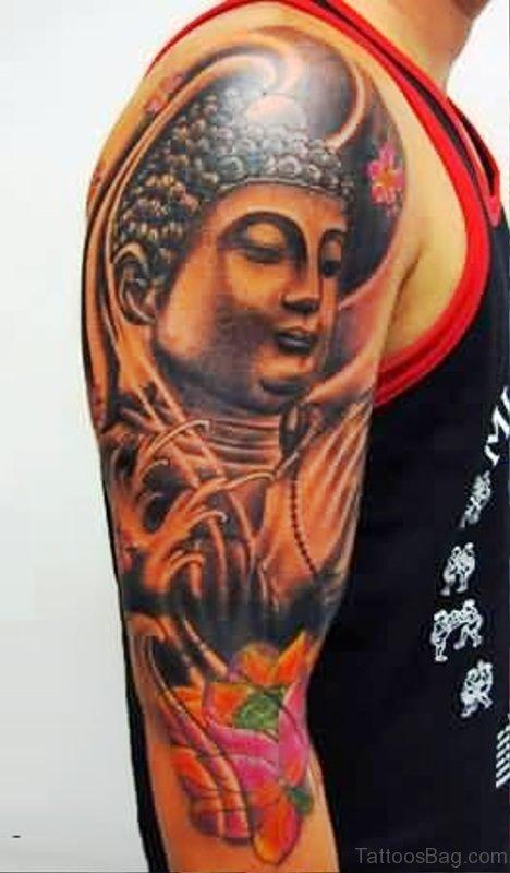 Brilliant Buddha Tattoo Design