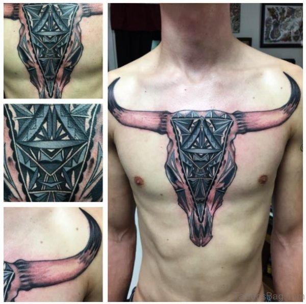 81 Stunning Bull Tattoos On Chest