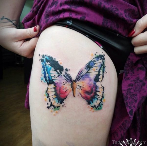 Brilliant Butterfly Tattoo