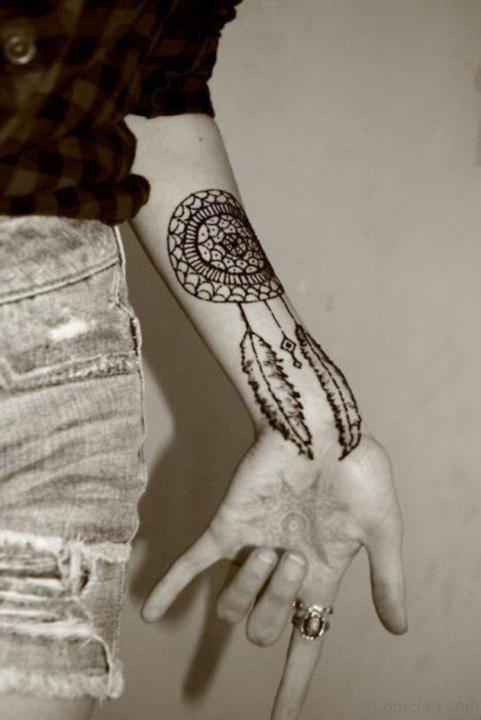 Brilliant Dreamcatcher Tattoo