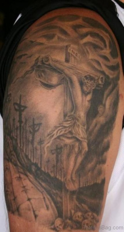 Brilliant Jesus Tattoo