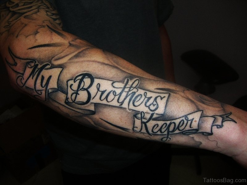 11 lovely brother tattoos on forearm