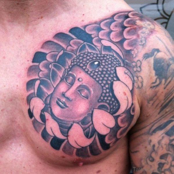 Buddha Head Tattoo