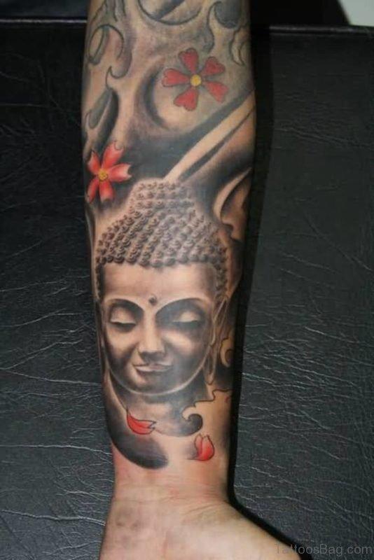 Buddha Tattoo For Full Sleeve