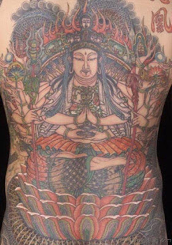 Buddha Tattoo Picture