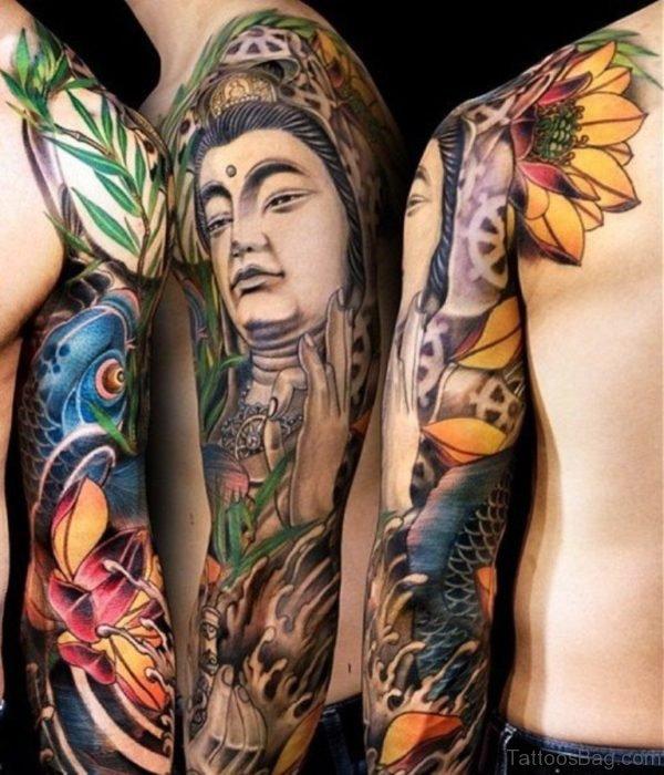 Buddha Tattoo Design