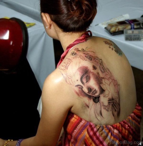 Buddha Tattoo for Women