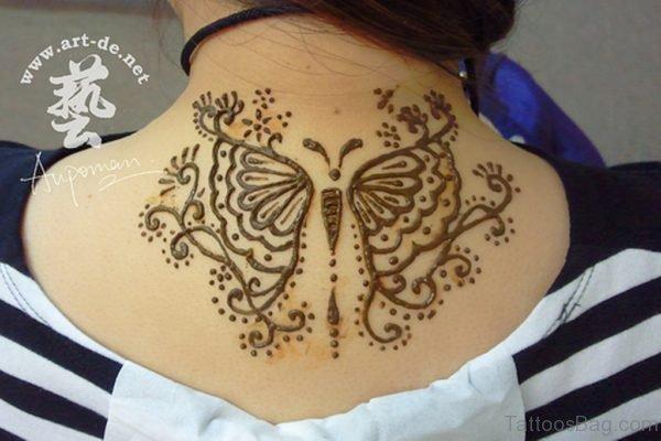 Butterfly Henna Tattoo