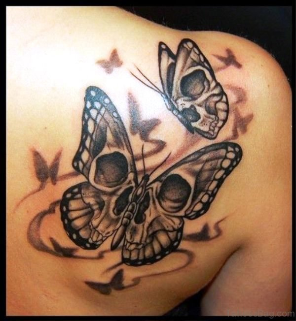 bb2d5b46b 80 Dazzling Butterfly Tattoos On Shoulder