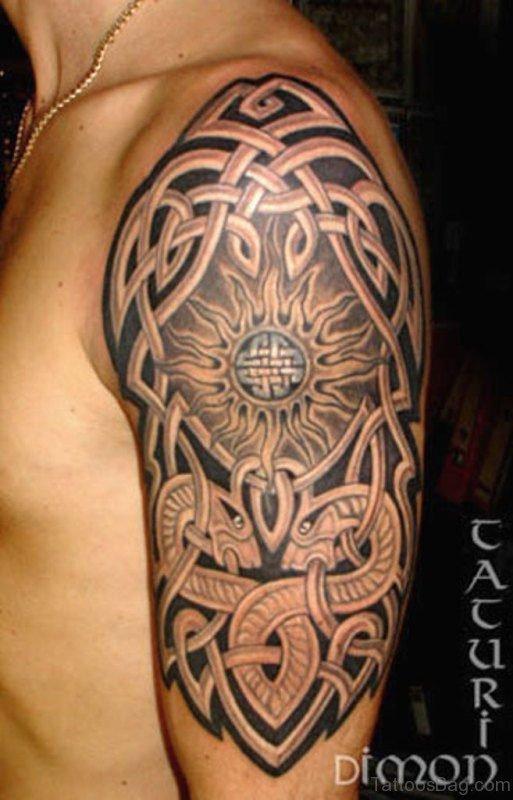 Celtic Tribal Tattoo