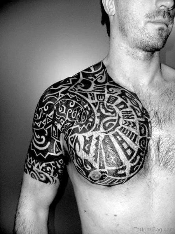 Celtic Black Tribal Tattoo
