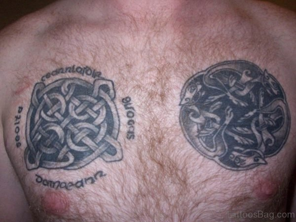 Celtic Chest Tattoo