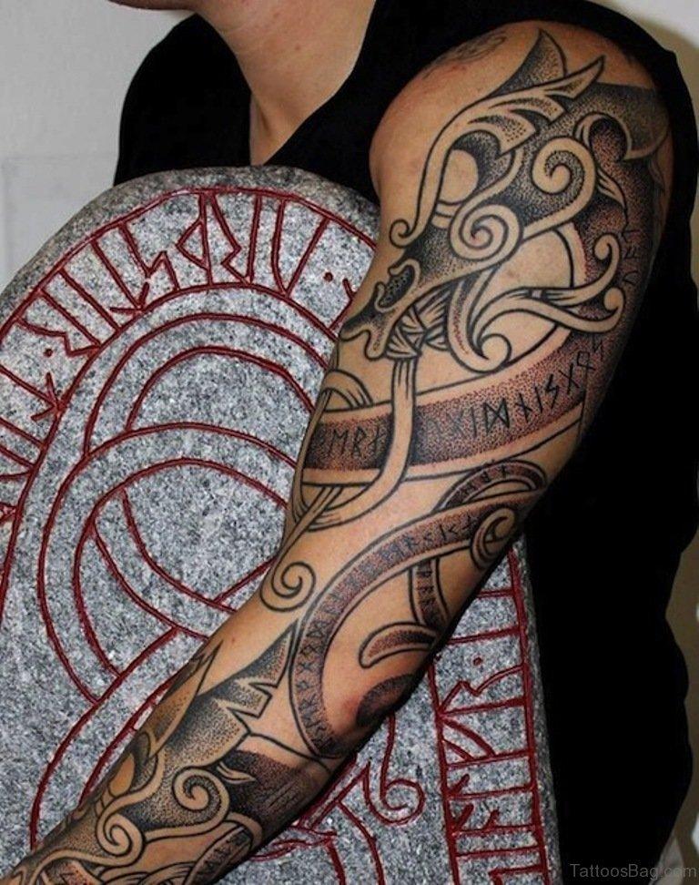52 magnificent dragon tattoos on full sleeve. Black Bedroom Furniture Sets. Home Design Ideas