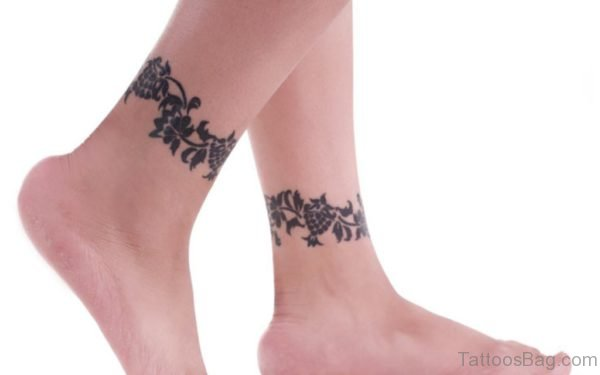 Celtic Flowers Tattoo