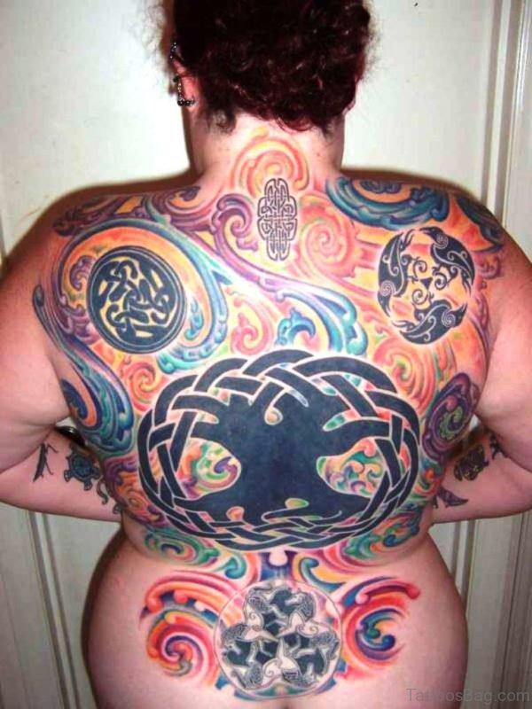 Celtic Full Back Tattoo