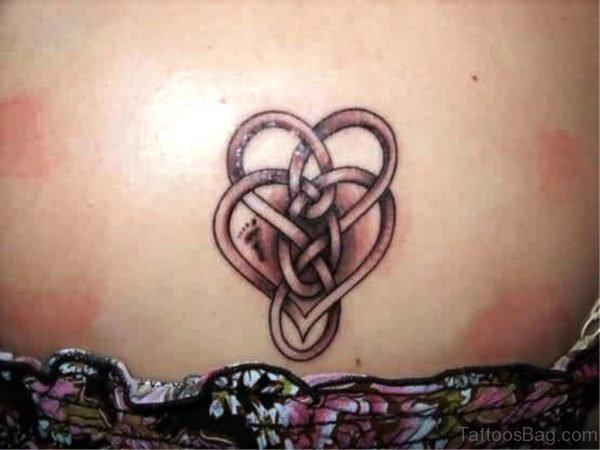 Celtic Tattoo On Back