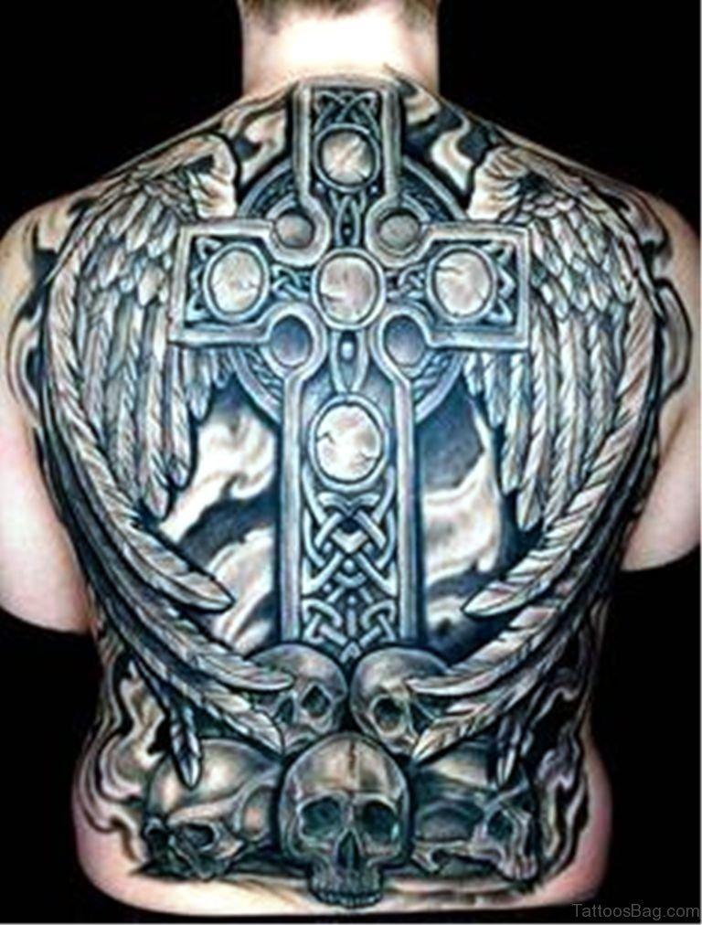 100 outstanding celtic tattoos for back for Full lower back tattoos
