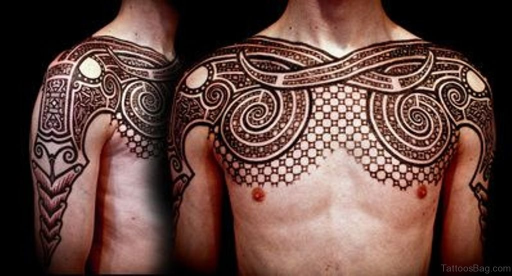 aa4b9bafbf74f 34 Cool Celtic Tattoos On chest