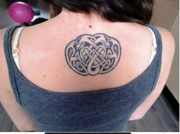 Celtic Tattoo Upper Back