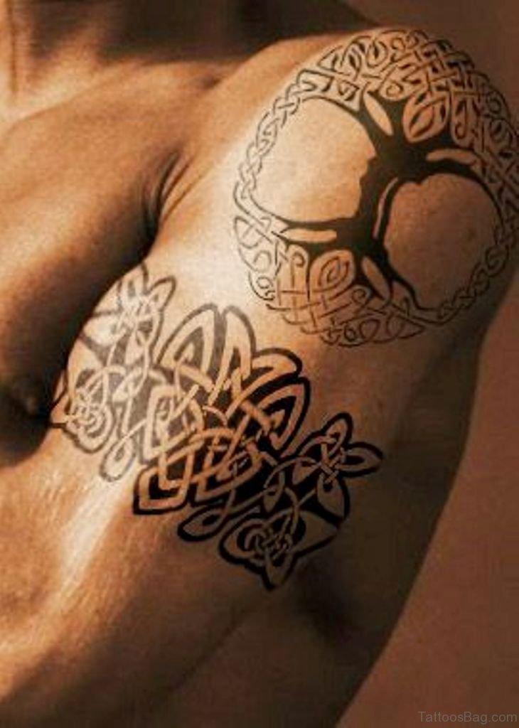50 best celtic tattoos for shoulder. Black Bedroom Furniture Sets. Home Design Ideas