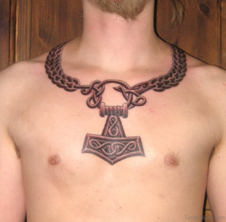 34 cool celtic tattoos on chest. Black Bedroom Furniture Sets. Home Design Ideas