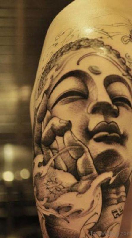 Charming Buddha Tattoo