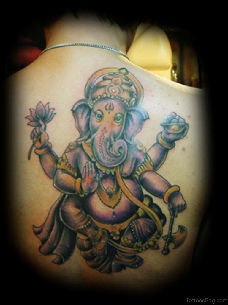 50 great ganesha tattoos on back