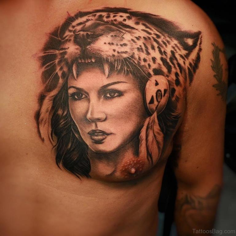 d7641aecb 50 Classy Aztec Tattoos Designs On Chest