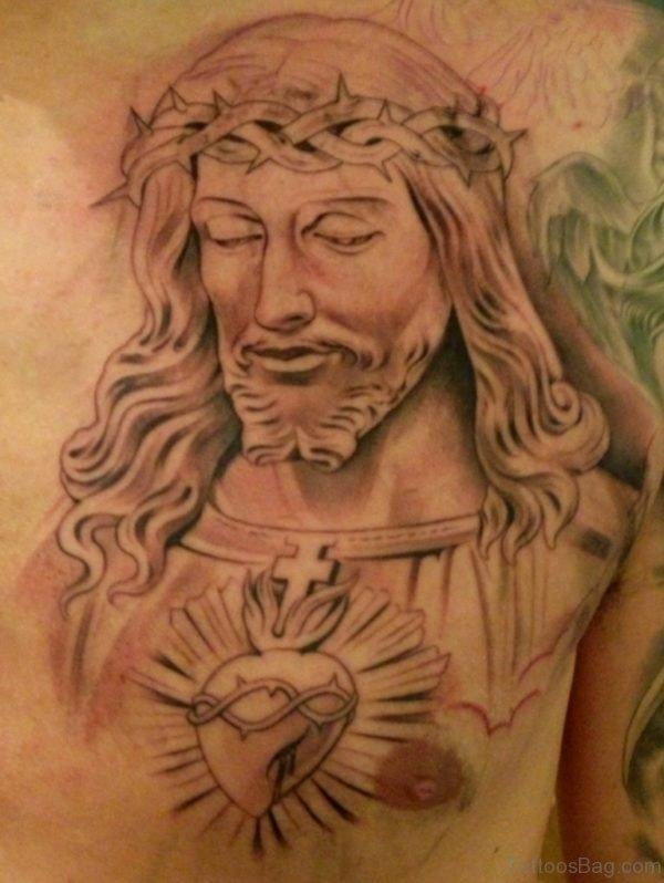 Christian Jesus Tattoo