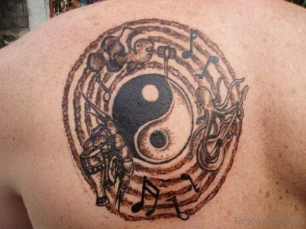 Circular Music Tattoo
