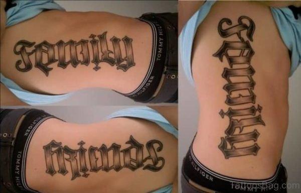 Classic Ambigram Tattoo