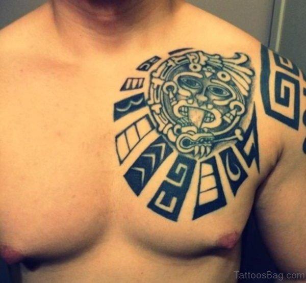 Classic Aztec Tattoo
