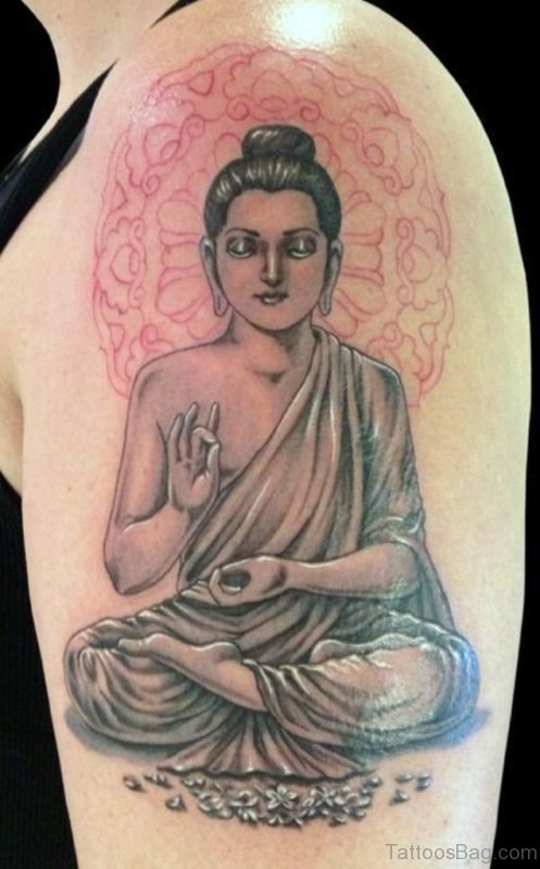 Classic Buddha Tattoo