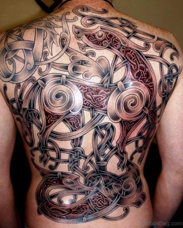Classic Celtic Tattoo Design