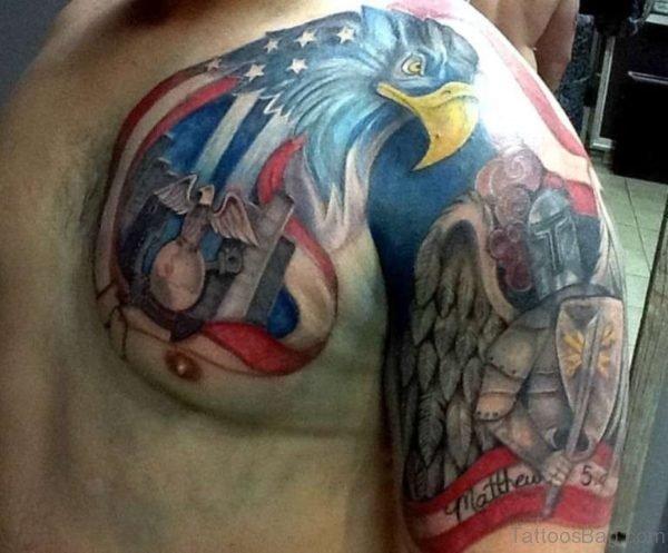 Classic Flag Tattoo Design