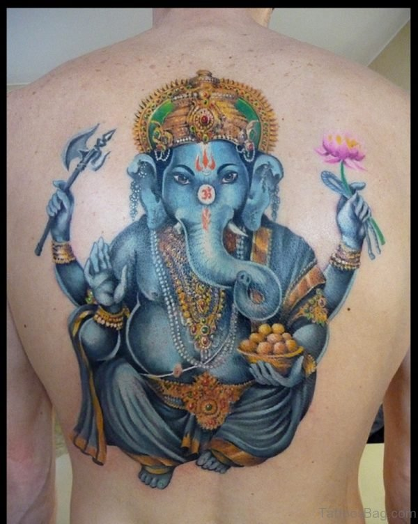 Classic Ganesha Tattoo