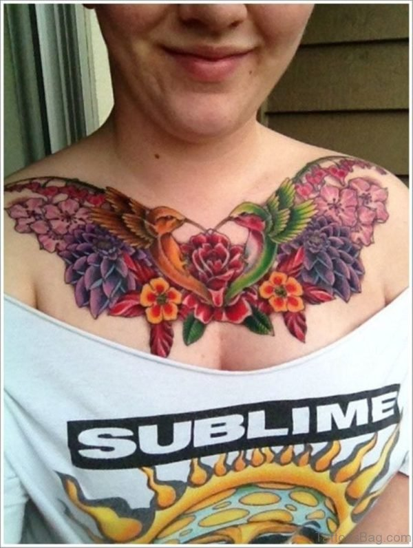 Classic Hummingbird Tattoo
