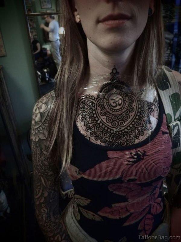 Classic Mandala Tattoo
