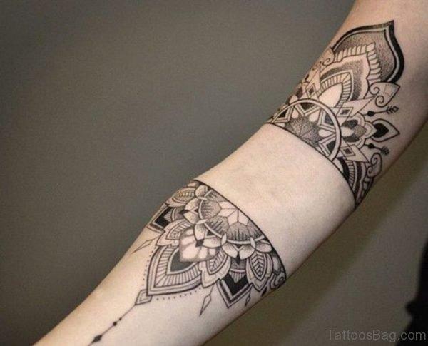 Classic Mandala Tattoo Design