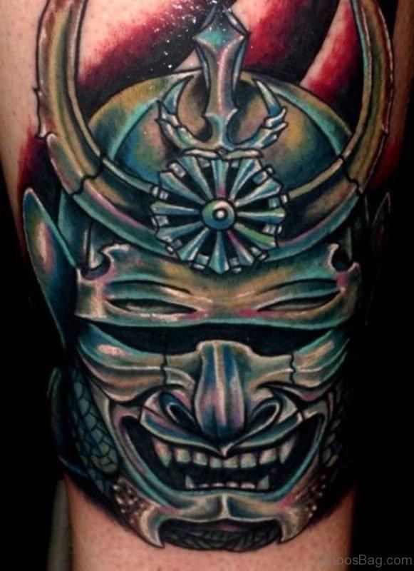 Classic Mask Tattoo