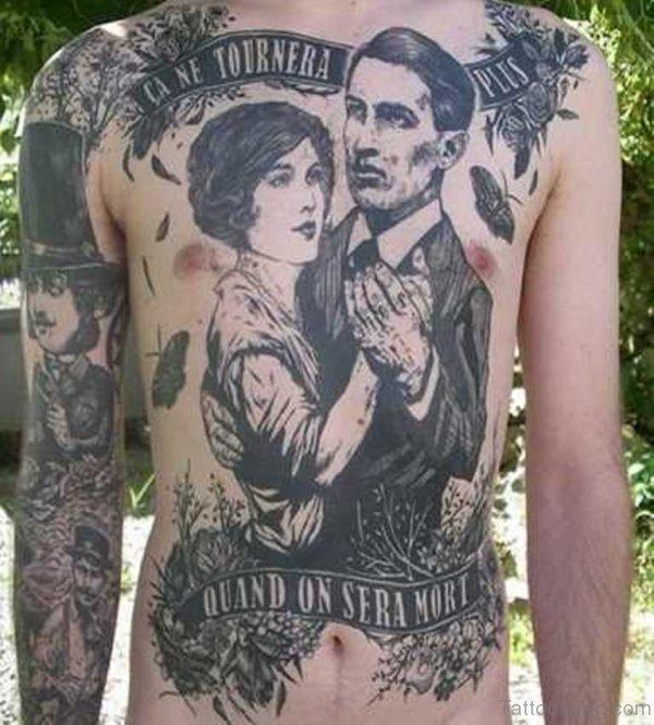 Classic Portrait Tattoo