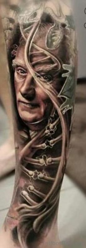 Classic Portrait Tattoo Design