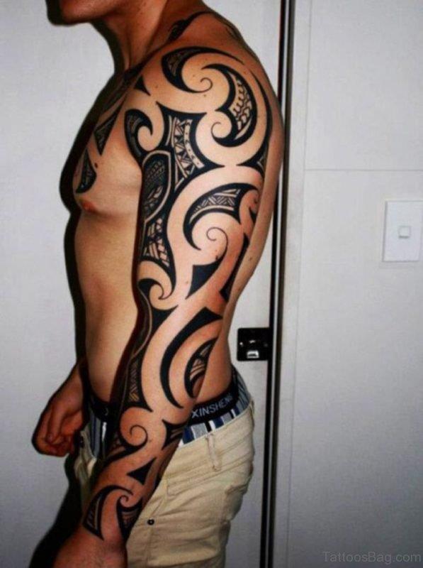 Classic Tribal Tattoo