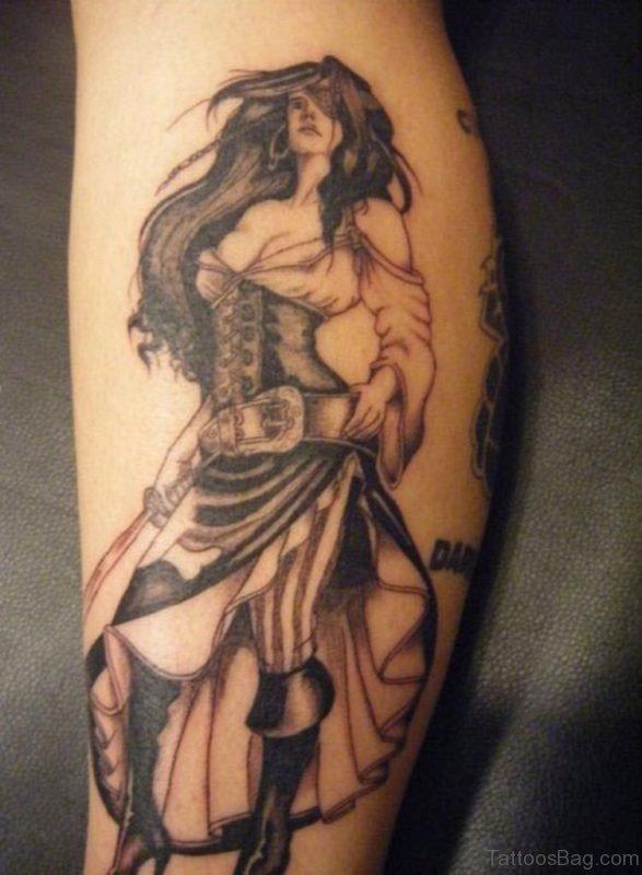 Classy Angel Tattoo