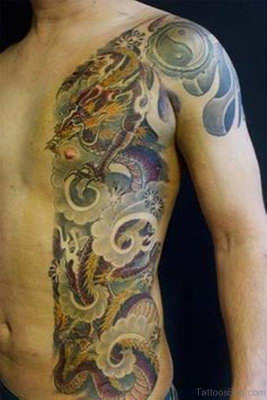 Classy Dragon Tattoo