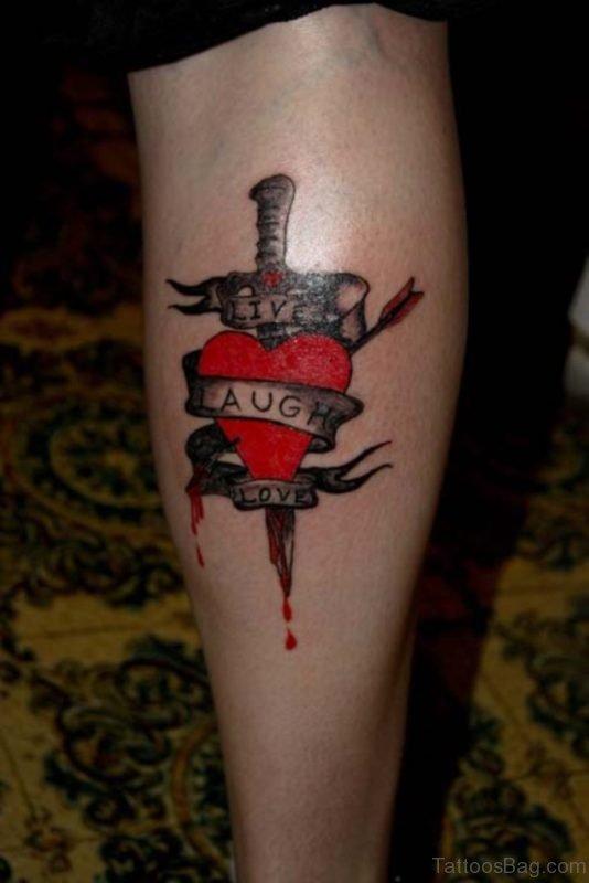Classy Heart Tattoo