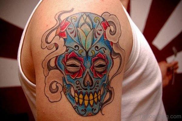 Classy Mask Tattoo