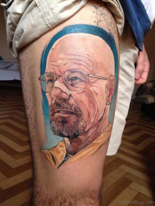 Classy Portrait Tattoo