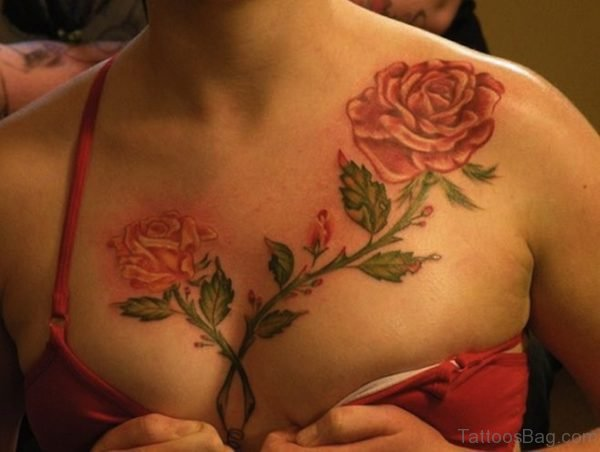 Classy Rose Tattoo